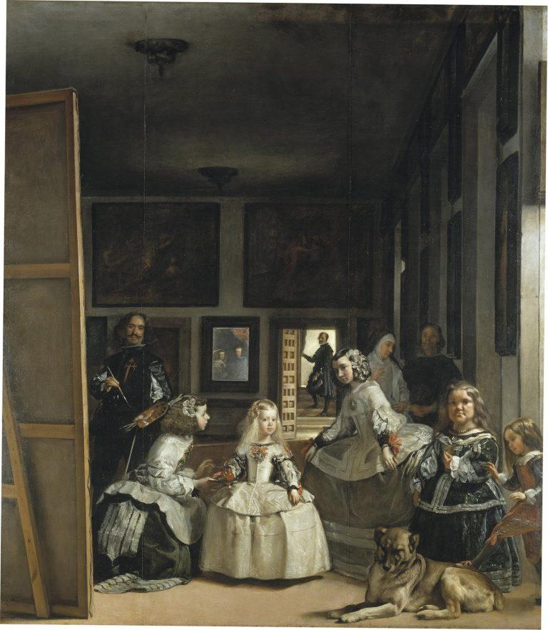 1656 - Diego Vélasquez - Les Ménines