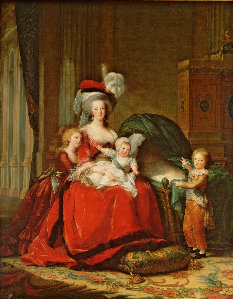 1787 - Elisabeth Vigée Le Brun - Marie-Antoinette et ses enfants - small