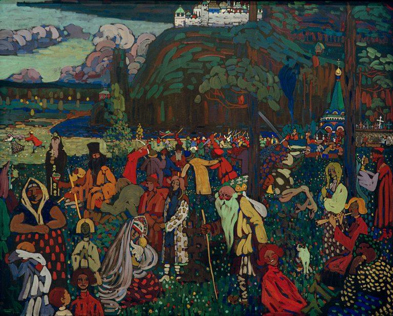 1907 - Kandinsky - La vie mélangée - small