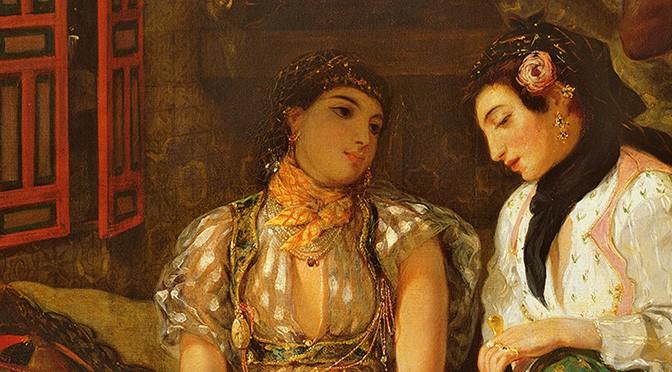 Femmes d'Alger dans leur appartement – Eugène Delacroix – 1834